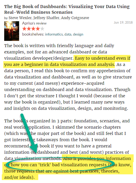 The Big Book of Dashboards Review