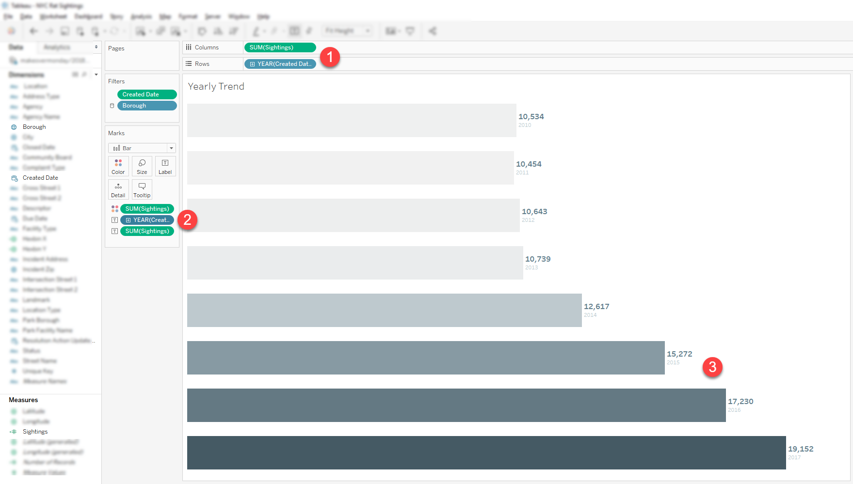 Tableau Highlight Tables: 5 steps to improve boring data